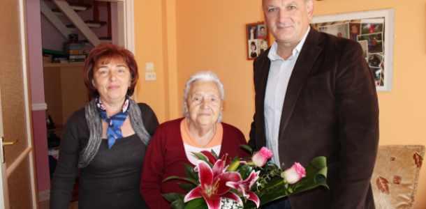 Isten éltesse Julika nénit 95. születésnapja alkalmából!