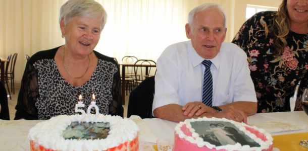 50. házassági évforduló